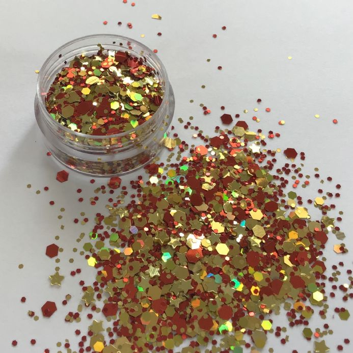 RUBY STAR GLITTER POT - 10g